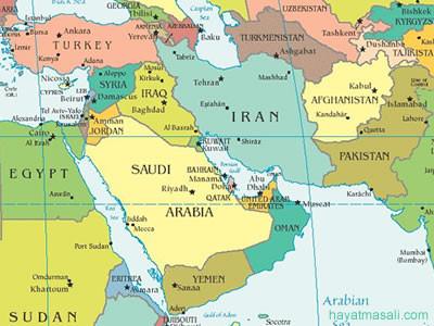 Ortadoğu Haritasi