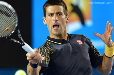 Tenisçi Novak Djokovic