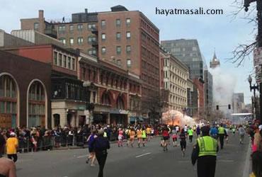Boston Maratonunda Patlama