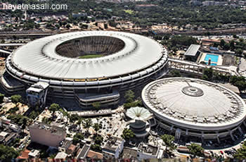 Brezilya Ünlü Maracana Stadi
