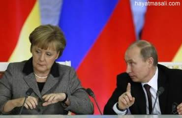 Putin Almanya'da