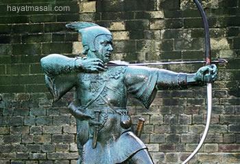 robin hood heykeli