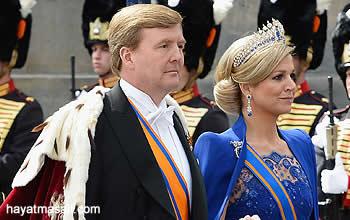 Yeni Hollanda kralı Willem Alexander