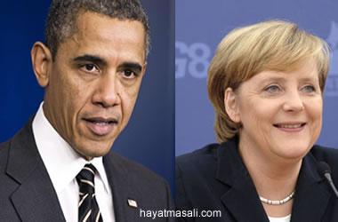 Obama ve Merkel