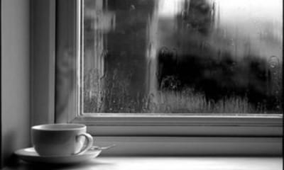 kahve ve yağmur