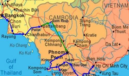 Kamboçya - Vietnam