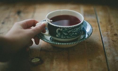 Çay içer misin