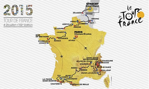 2015 Fransa Bisiklet Turu Başlıyor