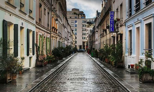 paris sokaklari