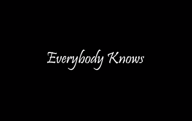 Leonard Cohen – Everybody Knows